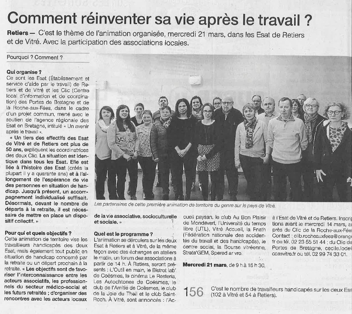 Article Ouest France Mars 2018 001